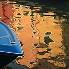 BLUE IN BURANO  II by June Ferrol