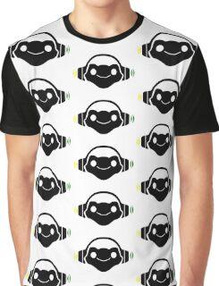 Black Lucio logo Graphic T-Shirt