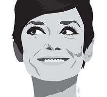 Audrey Hepburn - Icon by Victoria Ellis