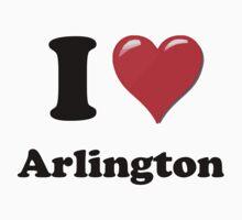 I Love Arlington by ColaBoy
