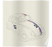 Herbie — The Love Bug Poster