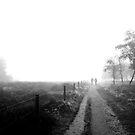 Walking in de Fog by VanOostrum