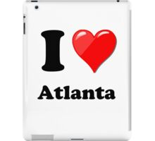 I Love Atlanta iPad Case/Skin