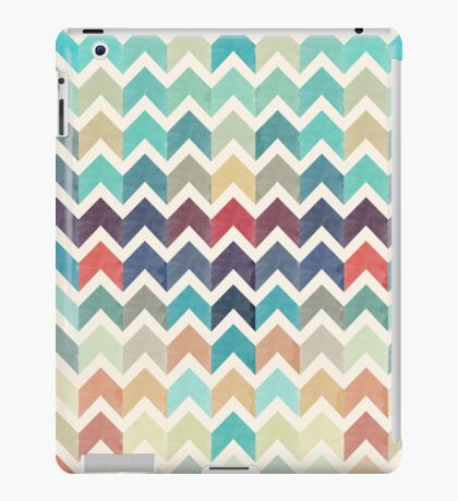 Watercolor Chevron Pattern iPad Case/Skin