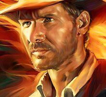 Indiana Jones by mariafumada
