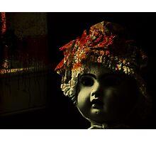 doll room crime scene 2 Photographic Print