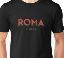 Vintage 60's Rome Italy Unisex T-Shirt