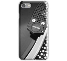 Old school record player iPhone Case/Skin