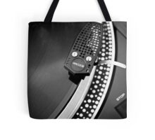 Old school record player Tote Bag