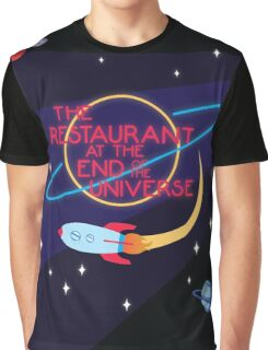 The Restaurant at the End of the Universe Graphic T-Shirt