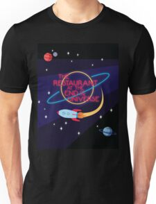 The Restaurant at the End of the Universe Unisex T-Shirt