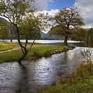 Buttermere Dubs In October by Jamie  Green