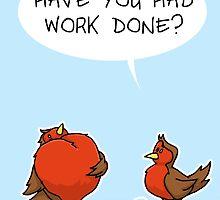 Busty Robins by adraftee