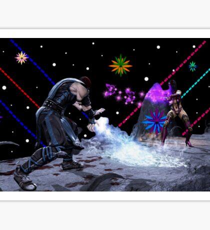 Mortal Kombat (Artist Tribute) Sticker