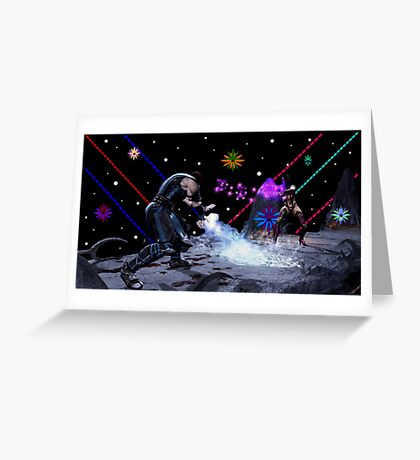 Mortal Kombat (Artist Tribute) Greeting Card