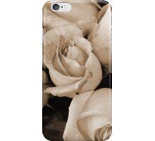 Sepia Roses iPhone Case/Skin