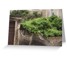 On the Wall Greeting Card