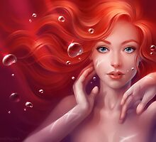 The little Mermaid by mariafumada