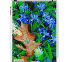 CRESTED DWARF IRIS iPad Case/Skin