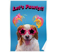 Let's Pawty!! Poster