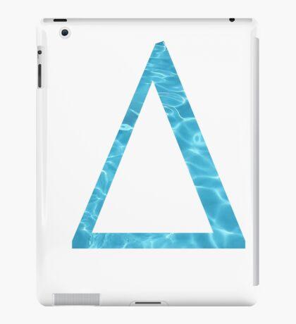 Delta-Water iPad Case/Skin