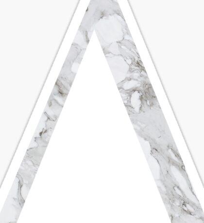 Delta-Marble Sticker