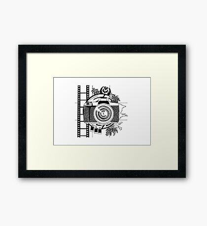 Life of a photographer Framed Print