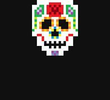 8-Bit Sugar Skull Unisex T-Shirt