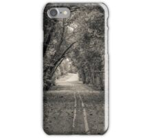 Chapel road iPhone Case/Skin