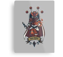 Red Mage Class Metal Print