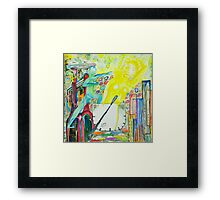 The day, an allegory Framed Print