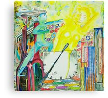 The day, an allegory Canvas Print