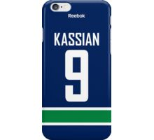 Vancouver Canucks Zack Kassian Jersey Back Phone Case iPhone Case/Skin