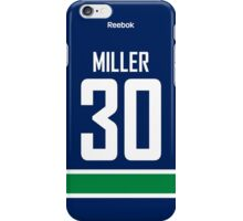 Vancouver Canucks Ryan Miller Jersey Back Phone Case iPhone Case/Skin