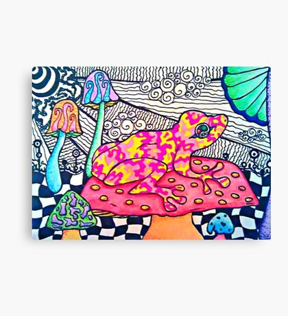Natural and Sincere Canvas Print