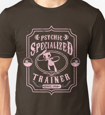 Psychic Specialized Trainer Unisex T-Shirt