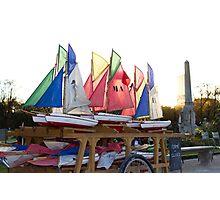 Sailing in Paris Photographic Print
