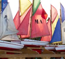 Sailing in Paris Sticker