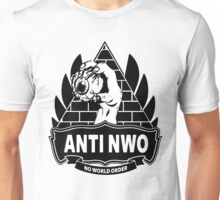 Anti NWO - No World Order Unisex T-Shirt