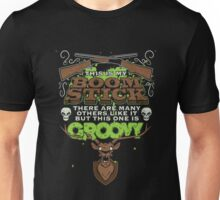 my boom stick is groovy  Unisex T-Shirt