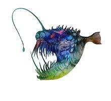 Angler Fish by Schyljuk
