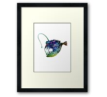 Angler Fish Framed Print