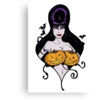 Mistress's Big Pumpkins Canvas Print