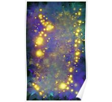 Abstract Starry Stuff 5 Poster