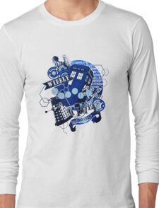 Wibbly Wobbly Timey Wimey... Stuff Long Sleeve T-Shirt