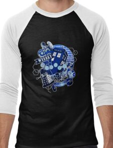 Wibbly Wobbly Timey Wimey... Stuff Men's Baseball ¾ T-Shirt