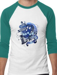 Wibbly Wobbly Timey Wimey... Stuff Men's Baseball ¾ T-Shirt