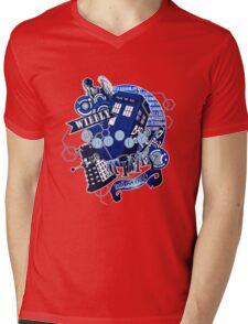 Wibbly Wobbly Timey Wimey... Stuff Mens V-Neck T-Shirt