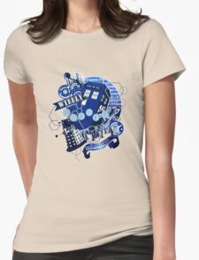 Wibbly Wobbly Timey Wimey... Stuff Womens Fitted T-Shirt