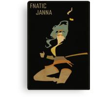 Fnatic Janna Canvas Print